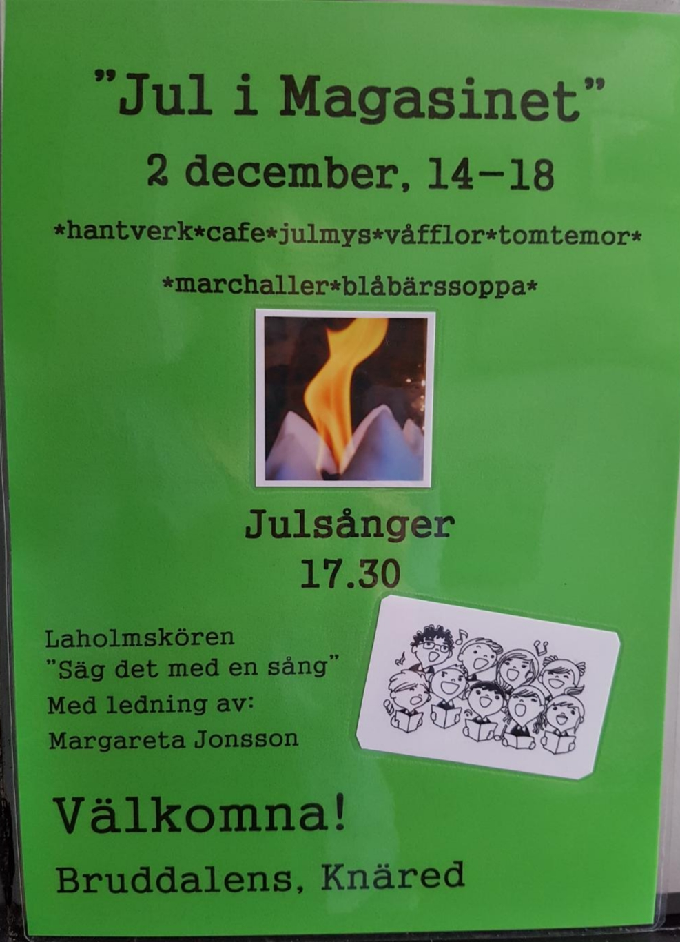 Jul i magasinet
